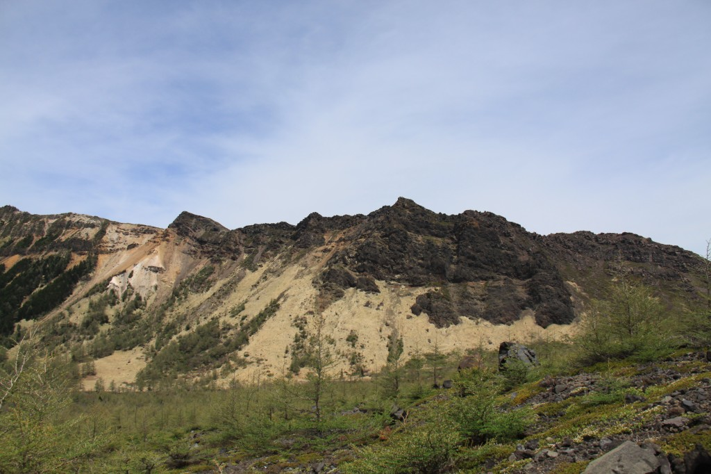 第1外輪山(蛇骨岳、仙人岳、鋸岳、Jバンド)