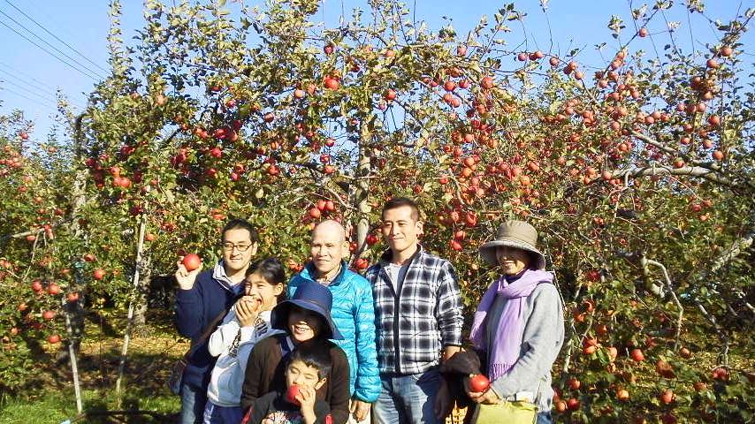 福井りんご園収穫祭2